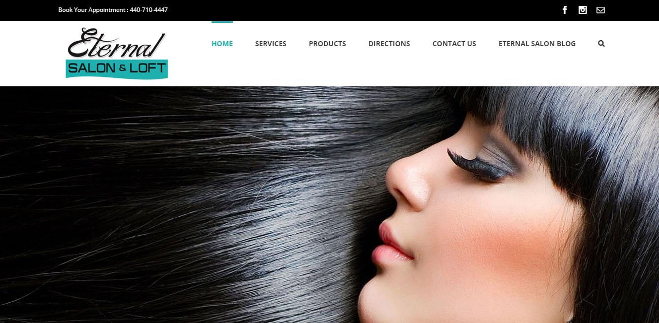 best salon websites